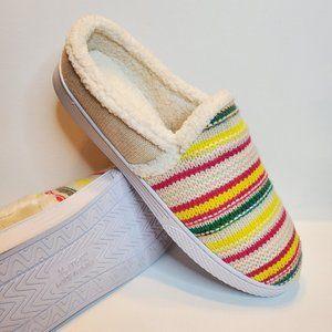 Brand New SO Women's 610 Stripe Clog Slippers